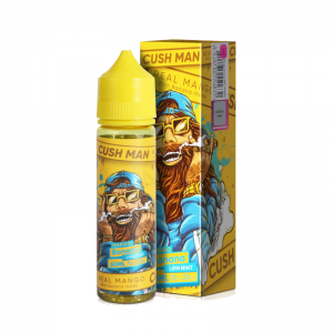 Lichid Nasty Juice Mango Banana Cush Man Series