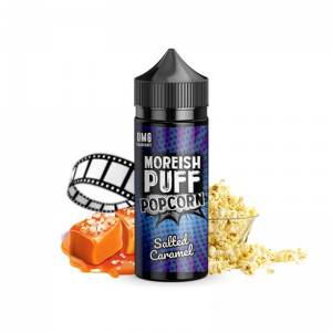 Lichid Moreish Puff Salted Caramel Popcorn