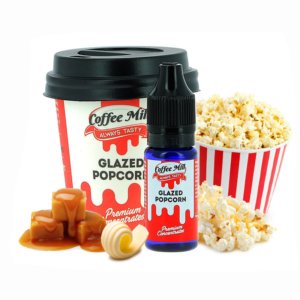 Aroma Coffee Mill Glazed Popcorn